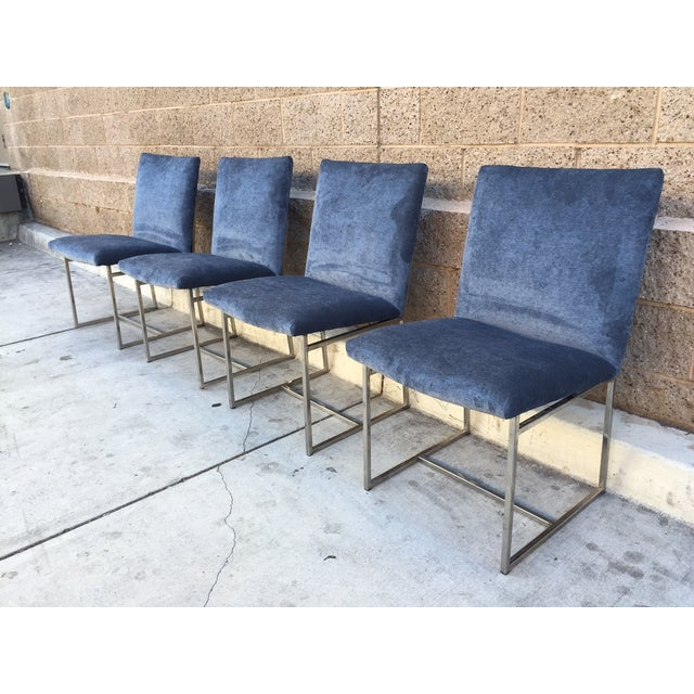 Milo Baughman Vintage Dining Chairs - Set of 4 - Image 2 of 5