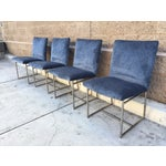 Image of Milo Baughman Vintage Dining Chairs - Set of 4