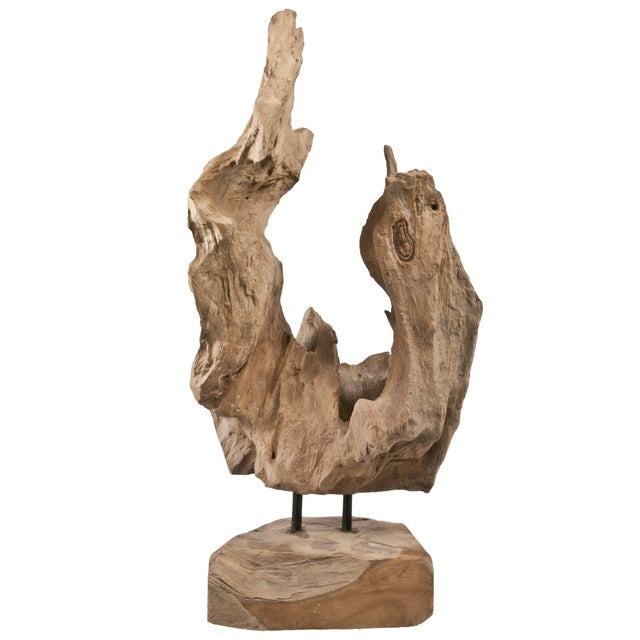 Driftwood Fragment on Stand - Image 1 of 4