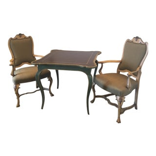 Minton Spidell Game Table & Chairs - Set of 3