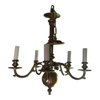 Brass Chapman Chandelier