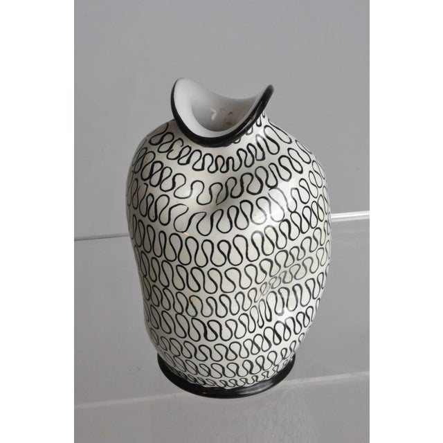 Italian Pottery Pinch Vase - Image 2 of 5