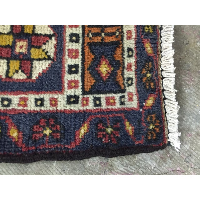"Image of Vintage Red Anatolian Persian Rug - 1'10"" x 3'4"""