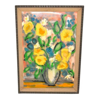 Evelyn Metzger Spring Bouquet Oil Painting