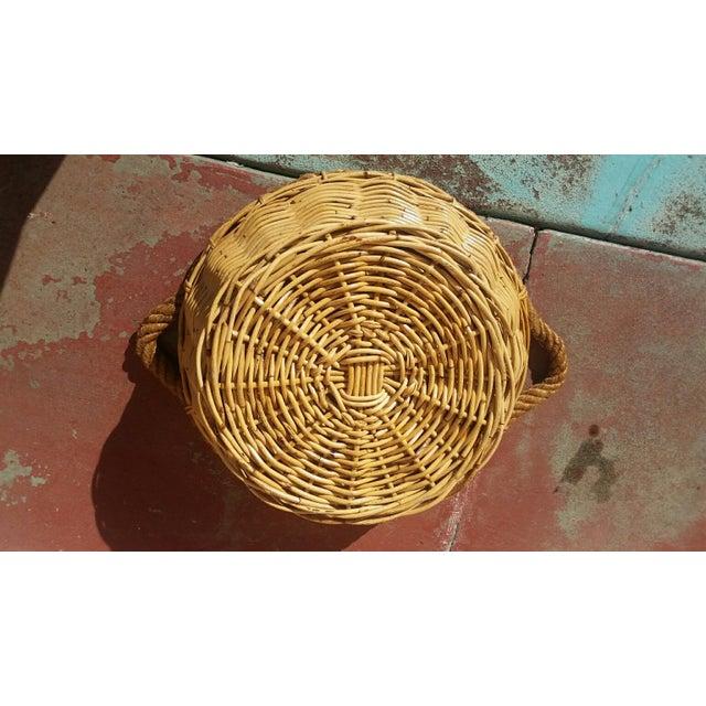 Large French Market Basket - Image 4 of 5