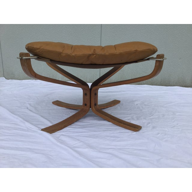 1960's Stanform Modernist Leather Ottoman - Image 2 of 9