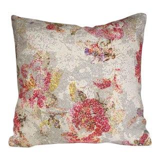 Kim Salmela Abstract Floral Pillow