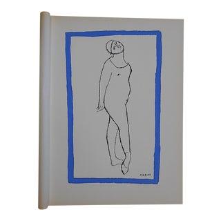 Vintage Ltd. Ed. Marino Marini Silkscreen-Equine-1959-Folio Size