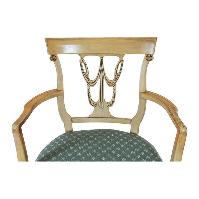 Neoclassical Dining Chairs S/4 - Image 4 of 10