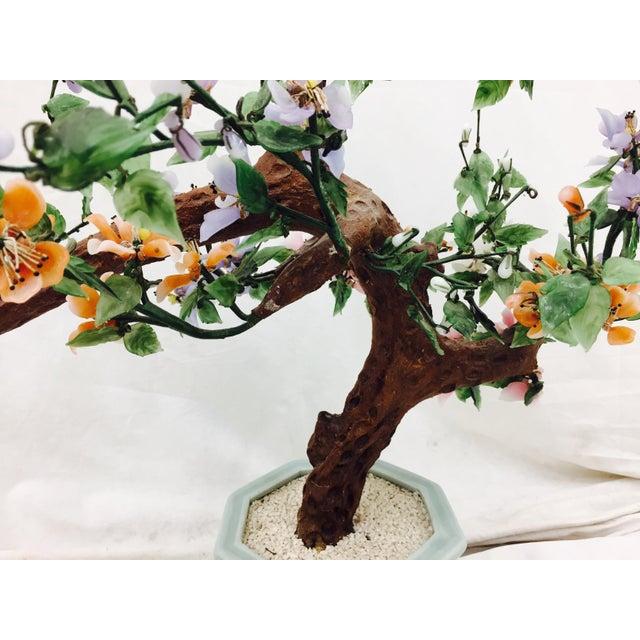 Vintage Mixed Stone Bonsai Tree Sculpture - Image 10 of 11