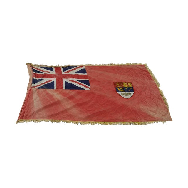 Canadian Red Ensign Original C.1930s Vintage Flag - Image 1 of 10