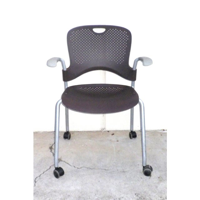 Herman Miller Casper Stacking Office Chair - Image 3 of 7