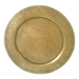 Zodiac Brass Plate