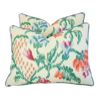 Custom Brunschwig & Fils Marly Pillows - Pair