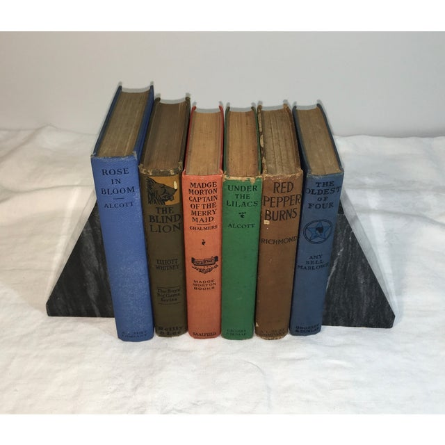 Antique Distressed Children's Books - Set of 6 - Image 3 of 3
