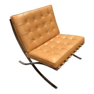 Seville Brown Leather Chair