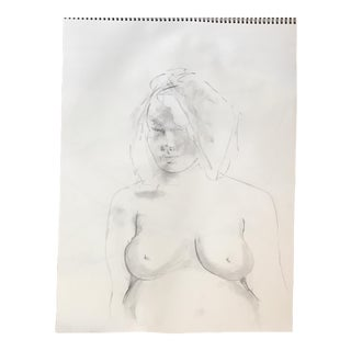 Pregnant Nude Drawing