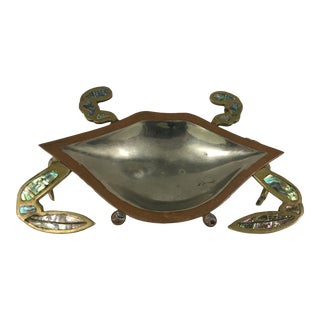 Mexican Brass and Copper Abalone Crab Dish