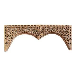 Javanese Carved Panel