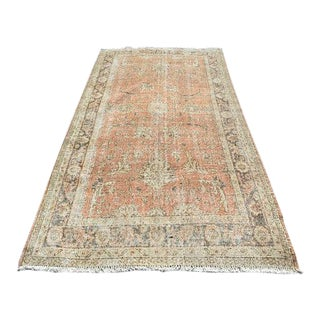 """Floral Overdyed Rug - 55"""" x 111"""""""