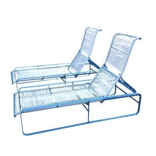 Retro Tropitone Chaise Lounge Set