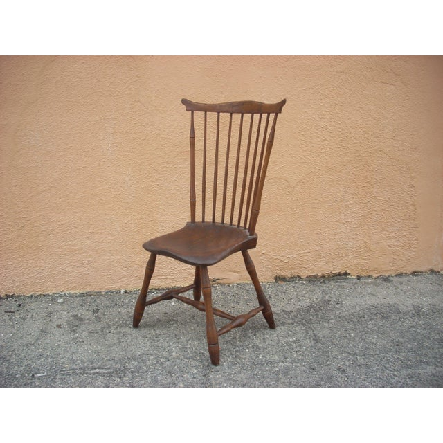 Primitive Windsor Chair - Image 2 of 7
