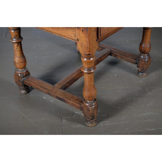 18th Century Fruitwood Oval Center Table - Image 8 of 10