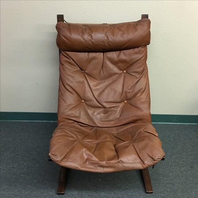 Westnofa Leather Siesta Chair - Image 3 of 11