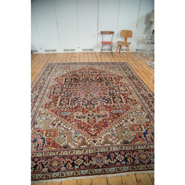 "Traditional Vintage Heriz Carpet - 8'2"" X 10'4"" - Image 4 of 10"