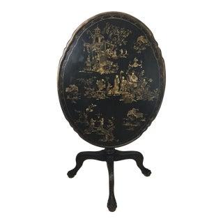 Black & Gold Pie Tilt Table