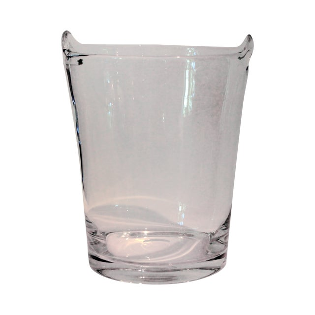 Image of Italian Glass Handle Champagne Cooler