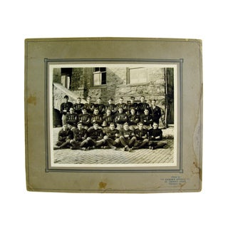 Antique 1915 Pennsylvania Football Team Photograph