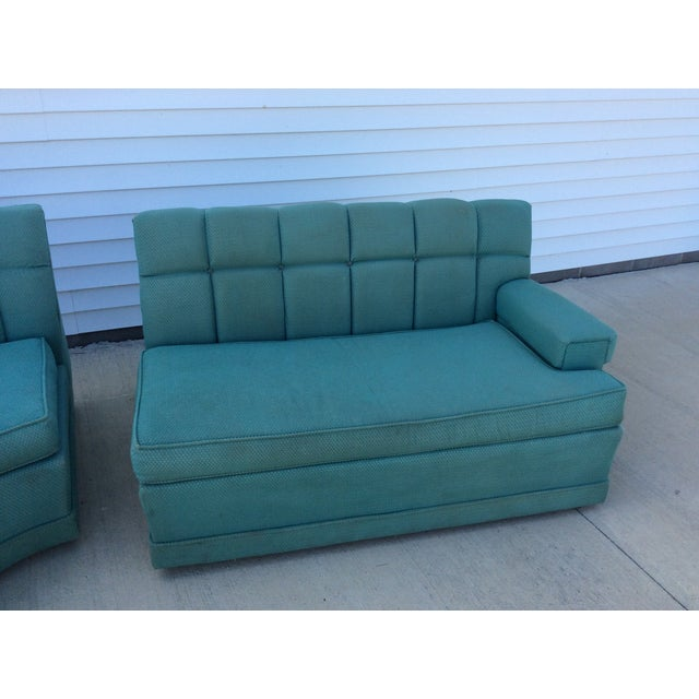 Vintage 1950's Sectional - Image 4 of 5