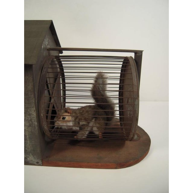 Rare 19th Century American Folk Art Architectural Squirrel Cage - Image 5 of 9