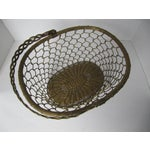 Image of Brass Woven Basket