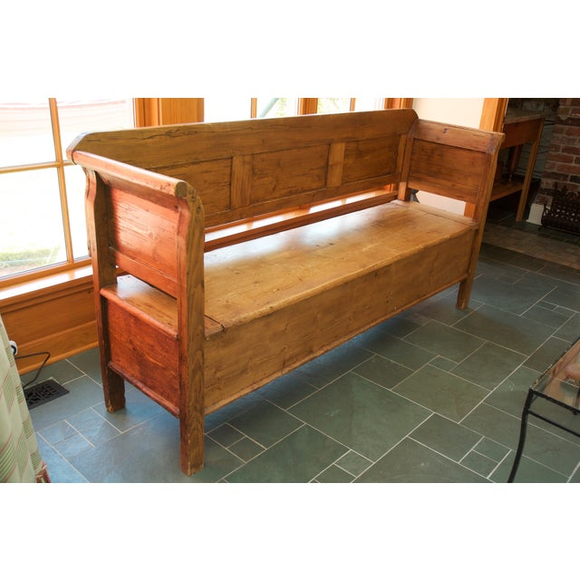 Image of Lillian August Pine Storage Bench
