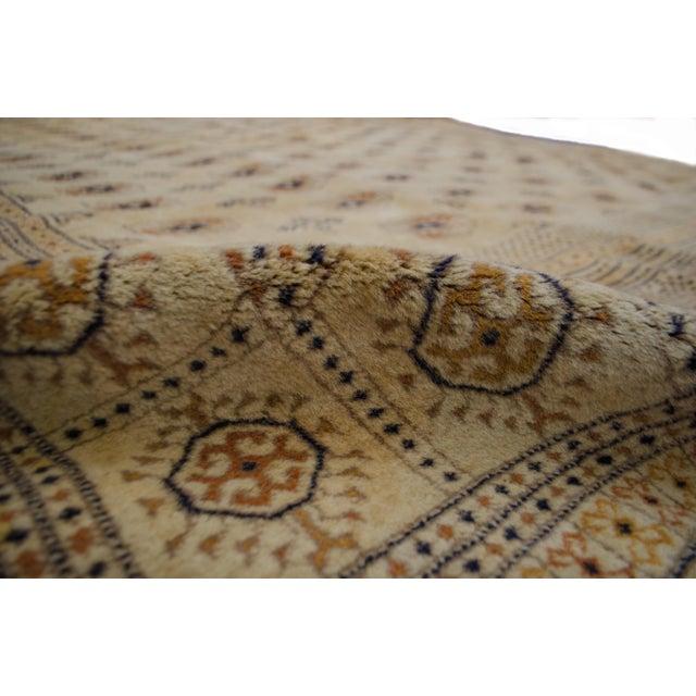 "Vintage Cream Bokhara Rug - 9'4"" x 11'6"" - Image 3 of 6"