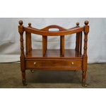 Image of Maitland Smith Mahogany Magazine Stand