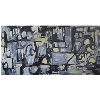Original Blue Abstract Painting