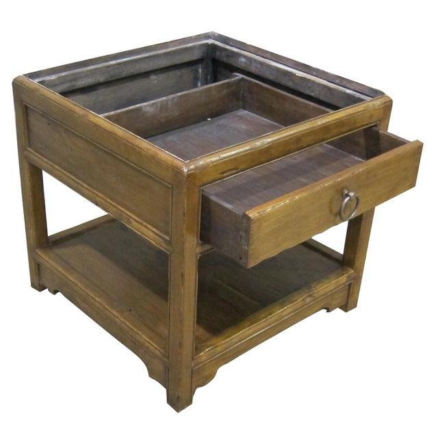 Vintage Sarreid LTD Elm Side Table Base - Image 2 of 4