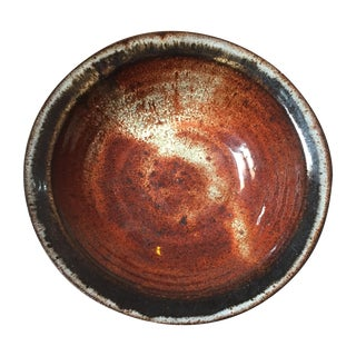 Pond Farm Brown Ceramic Bowl