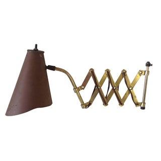 Industrial Scissor Lamp