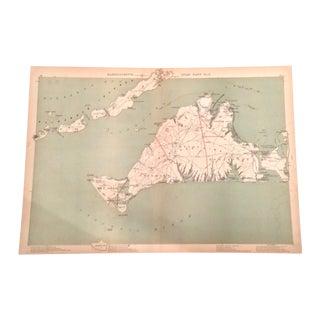 Map of Martha's Vineyard by Geo. H. Walker & Co.