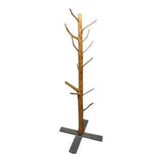 Adirondack Tree Sculpture Coat Rack