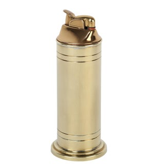 Tommi Parzinger brass table lighter, circa 1950s