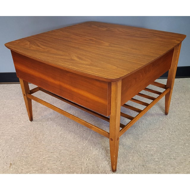 Mid-Century Lane Co. Single Drawer Side Table - Image 5 of 11