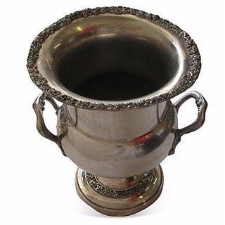 Embossed Sheridan Silver Champagne / Ice Bucket