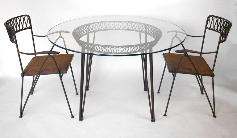 Maurizio Tempestini For Salterini Patio Table And Chairs   Image 6 Of 9