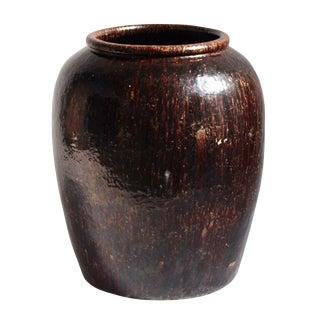 Vintage Espresso Ceramic Pot