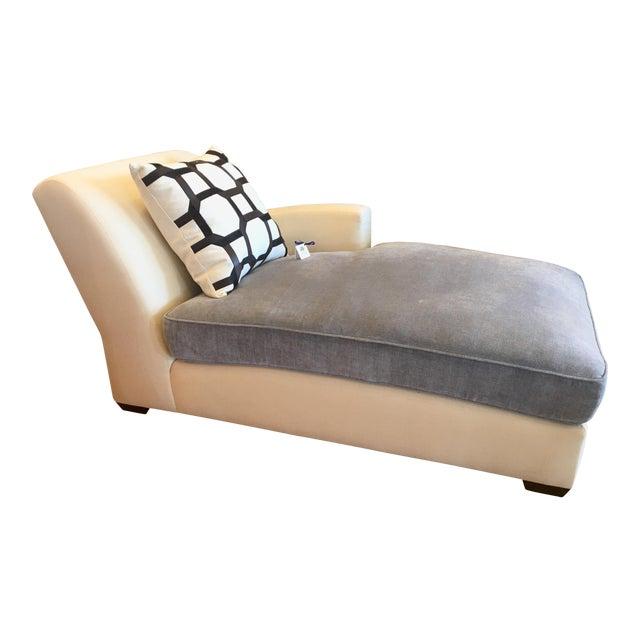 Christian Liaigne for Holly Hunt Nabob Chaise Lounge - Leonard Nemoy Estate - Image 1 of 6
